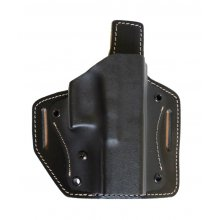 Kydex Belt Holster with Leather