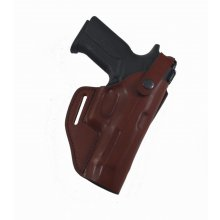 Lined Leather Shoulder Gun Holster