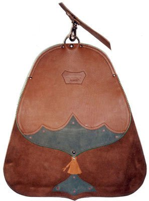 LEATHER FALCONRY BAG
