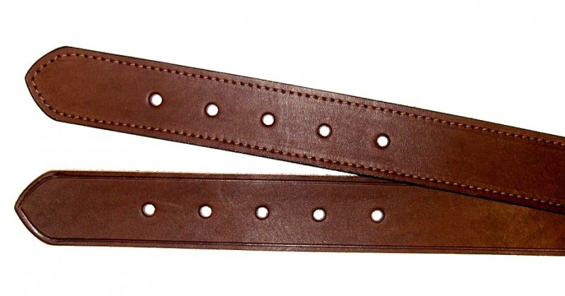 Leather Belt, 1.2 Inch