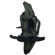 Backpack with Rifle Case