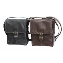 Leather Shoulder Bag For Concealed Carry