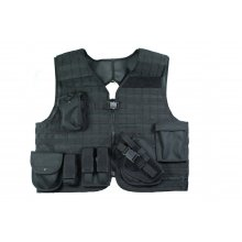 Tactical Vest with Variable MOLLE Equipment System