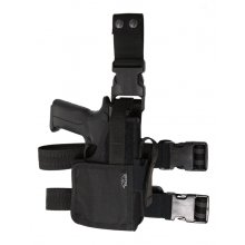 Drop Leg Nylon Holster for Gun with Light/Laser