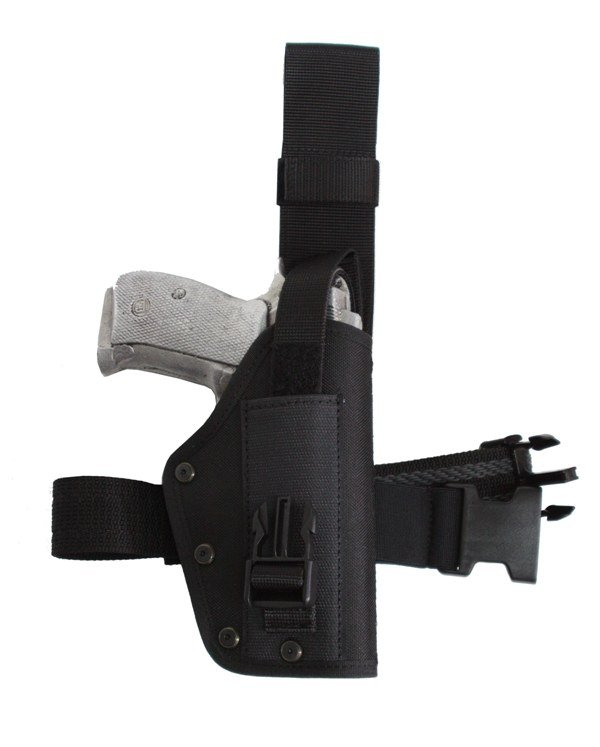 Duty Drop Leg Holster with Flap