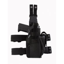 Tactical Drop Leg Holster with Extra Magazine Pouch