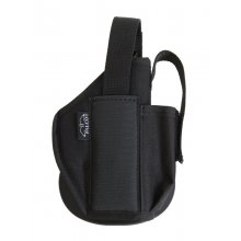 Nylon Holster with Paddle and Integrated Magazine Case
