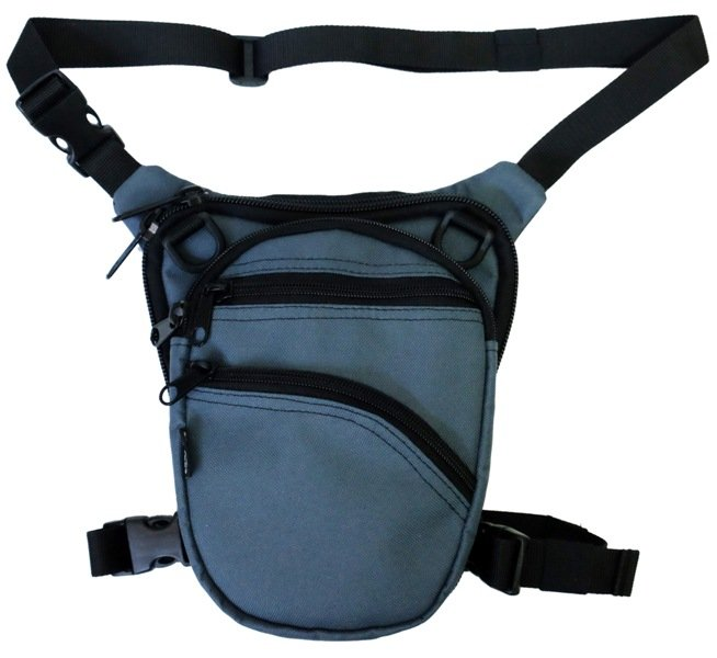 Leg Bag For Concealed Gun Carry