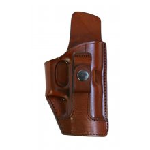 Leather Vertical Tuckable Concealed Carry Holster