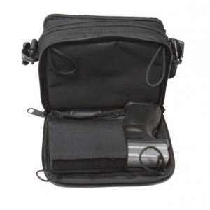 Small Shoulder Bag With Concealed Gun Holster