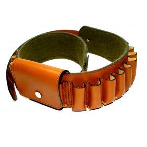 Lined Ammo Belt for Cardridges and Shotgun Shells