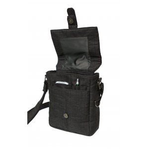 Elegant Shoulder Bag With Concealed Holster