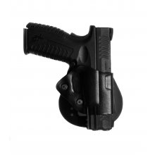Open Leather Holster with Paddle