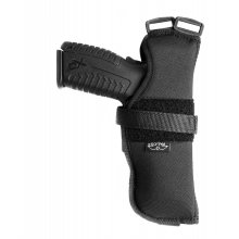 Vertical Nylon Shoulder Holster, closed top