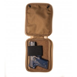 BELT POUCH FOR CONCEALED GUN CARRY