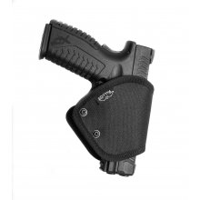 Plastic Gun Holster with Security Lock