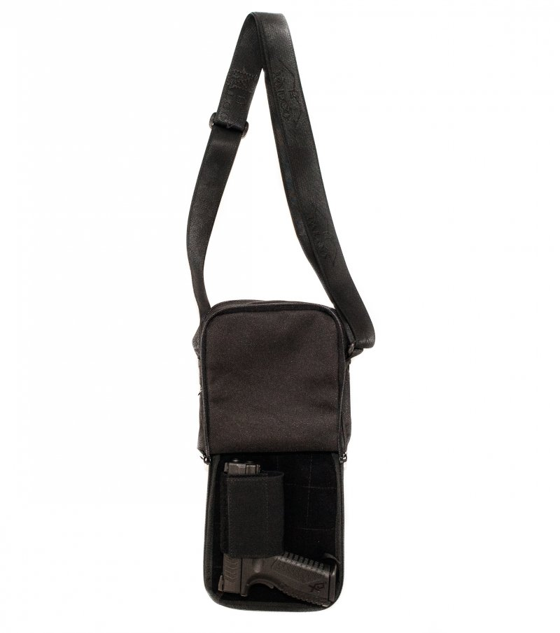 Bag For Concealed Carry With Front Flap