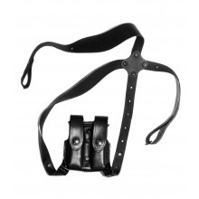 Cross-Shoulder Harness with Double Mag Pouch