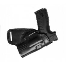 Small of Back Leather Belt Gun Holster