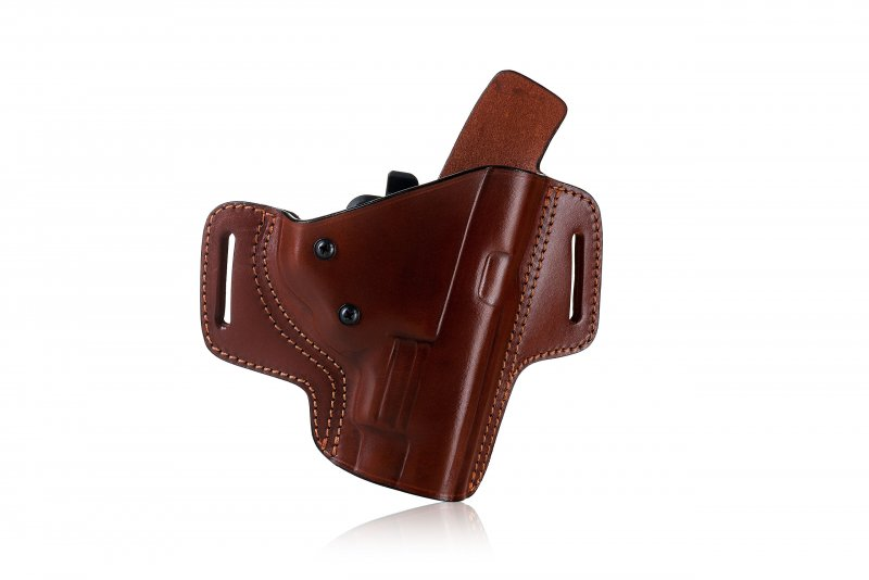From $ 39 95, | Pancake style OWB leather holster with security lock
