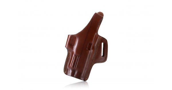 OWB Leather Holster Thumb Break Fits Smith/&Wesson 5906 Round Trigger Guard RH