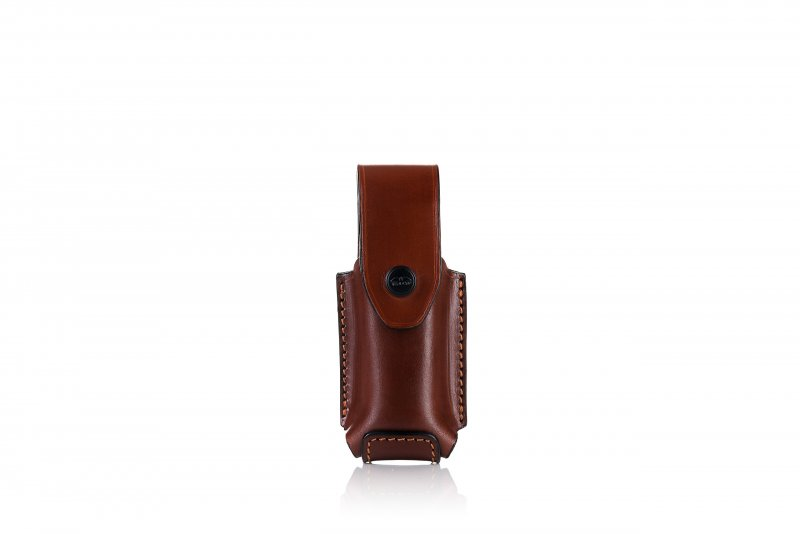 Single magazine OWB leather pouch