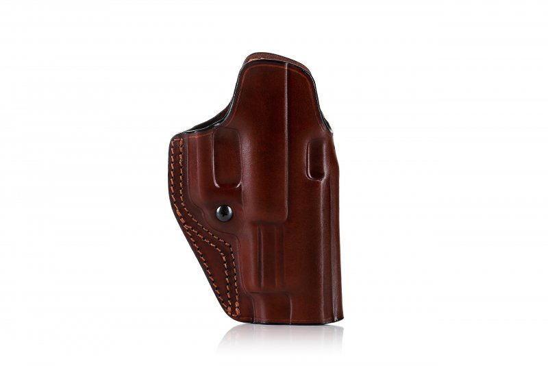 Quick draw OWB leather holster