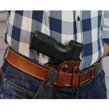 IWB concealed leather holster