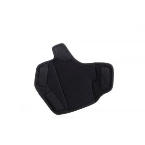 Dual angle open top OWB nylon holster