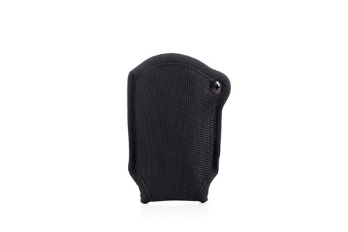 Single magazine open top OWB nylon pouch with retention screw