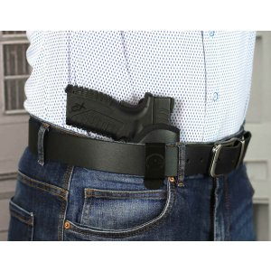Comfortable IWB concealed open top nylon holster