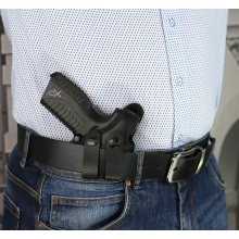 IWB concealed nylon holster with thumb break