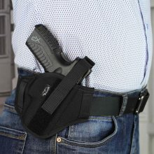 Nylon OWB secured holster
