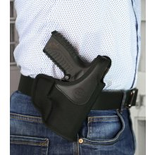 Stable OWB nylon holster with thumb break