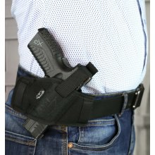 Secured nylon OWB holster