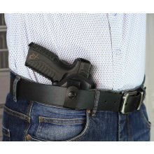 Tuckable IWB concealed open top nylon holster