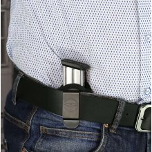IWB clip on magazine nylon pouch with retention screw