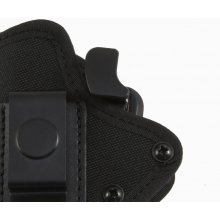 Plastic and Nylon OWB Holster with Security Lock and Belt Clip