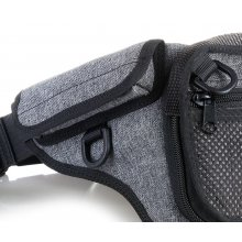 Large bum bag for concealed gun carry