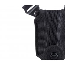 Single magazine nylon pouch for shoulder system