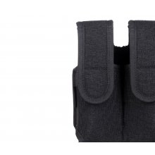 Nylon covered double mag pouch with paddle