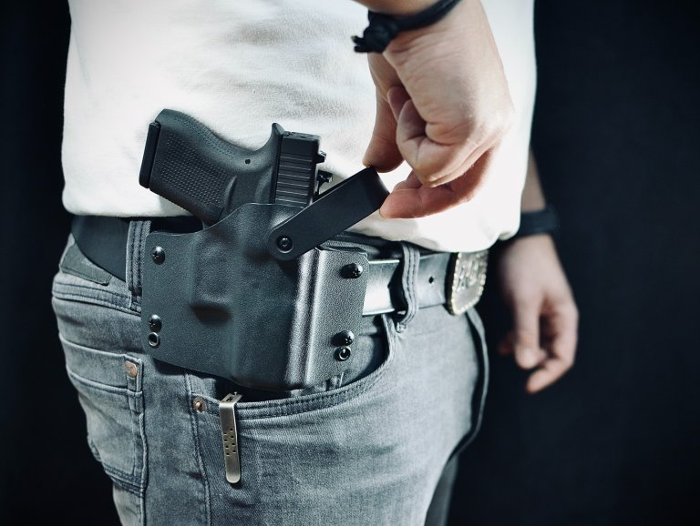 Kydex holsters built for safe carry