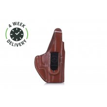 Timeless IWB leather holster with thumb-break
