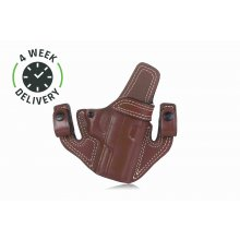 Timeless IWB/OWB leather holster with snaps