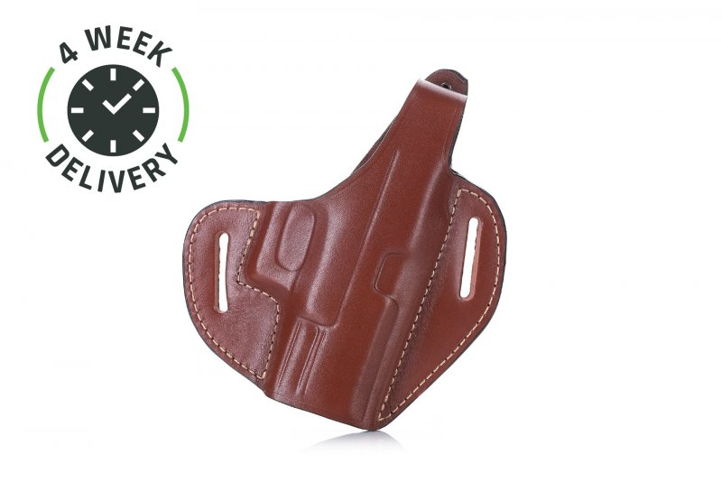 Timeless OWB leather holster with thumb-break