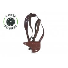 Timeless horizontal shoulder holster