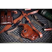 Leather ROTO Style Shoulder Carry Set