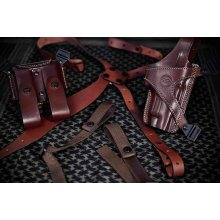 Leather Horizontal Shoulder Carry Set