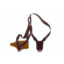 Horizontal leather shoulder holster Comfort